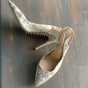 Studded snake 🐍 like BCBG heels!
